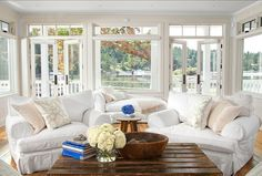 Coastal Interiors. Amazing Coastal Interiors! Love the #coastal #interiors in this Beach House! Looking for your own beach house on Cape Cod? Go to www.capecodrelo.com Then call me! #capecodbeachhouse