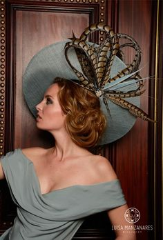 Luisa Manzanares, Millinery in Spain is on Madineurope : http://madineurope.eu/fr/artisan/LUISA%20MANZANARES%20MILLINERY/1288/