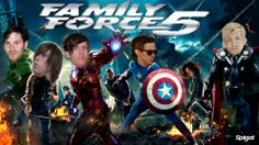 Family Force 5 ~ The Avengers| Someone had fun with this edit. #FF5Favorite
