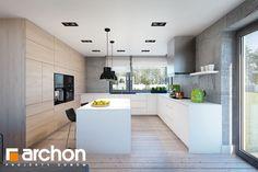 Nasz Dom w silene (G) może Ci się spodobać! Ikea New Kitchen, Kitchen Cabinet Design, Kitchen Cabinets, Luxury Kitchens, Architecture Design, Interior Design, House Styles, Table, Furniture