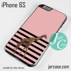 Giraffe Pink Art Phone case for iPhone 6/6S/6 Plus/6S plus