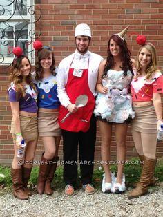 Coolest Ice Cream Cone and Ice Cream Man Couple Halloween Costume...