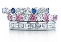 Tiffany celebration rings...I have the pink...just need a few more for my stack...xx
