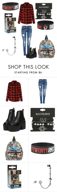 """Hannah"" by voguebonita360 ❤ liked on Polyvore featuring Funko"