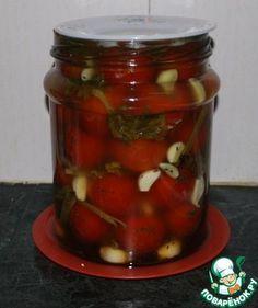 Квашеные помидоры за 3 дня ингредиенты