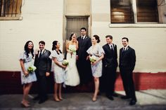 San Francisco bridal party portraits. Tinywater Photography, http://tinywater.com.