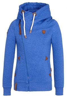 f56d65abb010 Naketano Women s Zipped Jacket Family Biz II (M, Lecker Blau Melange)