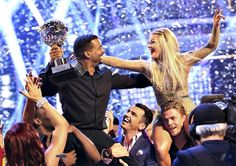 ALFONSO RIBEIRO IS THE NEW KING OF DWTS.