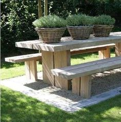 Build ur own picnic table