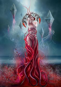 Blood Zodiac. Cancer by Vasylina on deviantART