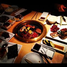 Best #Restaurant #HappyHour: Gyu-Kaku Japanese BBQ in Honolulu, HI. A great #izakaya with excellent #BBQ grilled marinated meats, veggies, including #HaramiMiso #BiBimBap #Kalbi and Gyu-Tan (Cow #Tongue). Discounts for #kamaaina and locals!