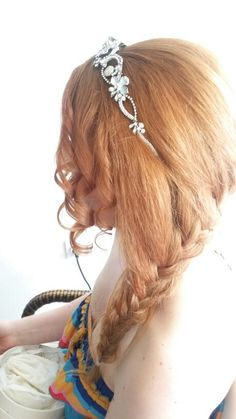 Bride hairstyles ,twist ,curly