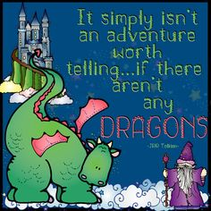 dragon quote, fantasy clip art, dragon clip art, tolkien quotes, dragon quote