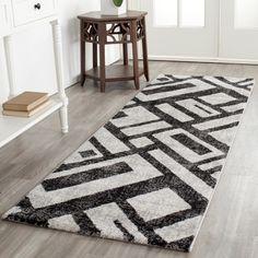 Safavieh Porcello Black Rug (2'4 x 6'7)
