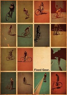 "Fixed Gear looks like ""Evan Hecox"" art"