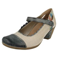 Ladies Remonte Heeled Shoes, D1207