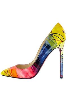 Christian Louboutin - If I have one pair of shoes that are my favorites (admittedly, a big if) these are the ones. V