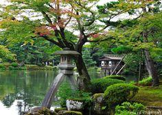 Kenroku-en Garden, Kanazawa What is the Kotoji stone lantern? Why is it famous?