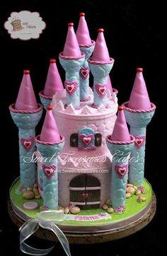 Princess Castle - Cake by Sweet Treasures (Ann)