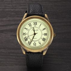 Women Vintage Leather Watches Fashion Quartz Retro Sports – Gifts Leads