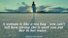 Feels like I'm always in hot water!