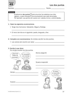 Lengua repaso y ampliación 3º primaria Santillana Spanish Class, Teaching Spanish, Education, School, Learning, Solar, English, Learn Spanish, Teaching Supplies