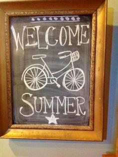 Summer Chalkboard