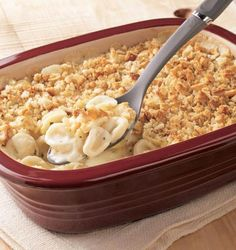 """Create a cozy night in with this Mac & Cheese recipe in the Deep Covered Baker. - """"Another one of my favorite dishes to make for my family."""" Yum yum yummy!"""