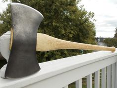 Plumb Double Bit axe with new 35 inch handle os American Hickory by AppalachianAxeworks on Etsy