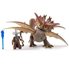 Dreamworks Dragons Deluxe Dragon Rider Valka and Cloud Jumper Action Figure Toothless Toy, Dreamworks Dragons, Dragon Rider, How Train Your Dragon, Httyd, Toy Sale, Movie Characters, Drake, Action Figures