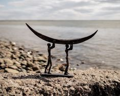 Irish Traditions, Two Men, Finding A House, Bronze Sculpture, Fishing Boats, Sculpting, Ireland, Contemporary Art, Art Gallery