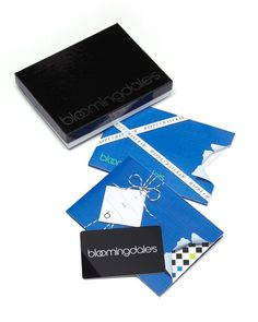 Bloomingdale's Unwrap Chanukah Gift Card in Box