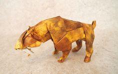 【Origami】 Smilodon