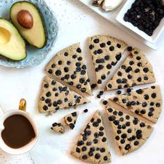 Avocado Scones Recipe. Gluten free, vegan scone with coconut milk ...