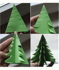3d Origami tree