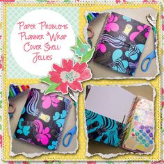 Planner wrap covers & more for Erin Condren, Plum paper, inkwell press, limelife, simplified life, arc, mambi happy planner & more. Visit my Etsy listing at https://www.etsy.com/listing/230184399/clearance-jellies-wrap-planner-cover