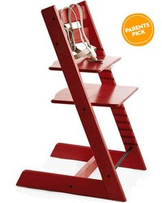 This bright, modern high chair has an adjustable seat to fit kids of many heights and sizes. Buy it here: http://www.parents.com/shop/go.html?p=5051c88982a7e3b7aaf61871