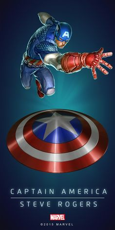"#Captain America #Fan #Art. (CAPTAIN AMERICA - STEVE ROGERS IN: MARVEL'S PUZZLE QUEST!) BY: AMADEUS CHO! (THE * 5 * STÅR * ÅWARD * OF: * AW YEAH, IT'S MAJOR ÅWESOMENESS!!!™)[THANK U 4 PINNING!!!<·><]<©>ÅÅÅ+(OB4E)(IT'S THE MOST ADDICTING GAME ON THE PLANET, YOU HAVE BEEN WARNED!!!)(YOU WANT TO FIND THE REST OF THE CHARACTERS, SIMPLY TAP THE ""URL"" HERE: https://www.pinterest.com/ezseek/puzzle-quest-art/ (THANK YOU FOR DOING ALL YOUR PINNING AT: HERO WORLD!)"