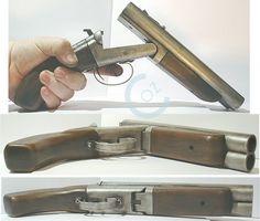 Ultra short, double barrel shotgun. I'll take two!!!