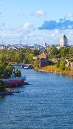 Finland Fortress Helsinki. #finland #helsinki…