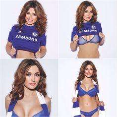Sophie Rose - Chelsea FC Super Fan & Babe