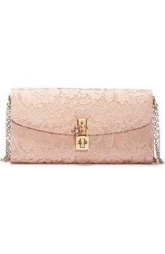 Dolce&Gabbana Lace Pouchette Clutch available at #Nordstrom