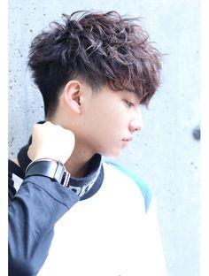 Haircut masculino 2019 New ideas Japanese Men Hairstyle, Korean Men Hairstyle, Japanese Hairstyles, Korean Hairstyles, Tomboy Hairstyles, Permed Hairstyles, Men Hairstyles, Wavy Hair Men, Short Wavy Hair