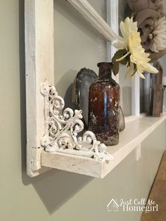 Adding a Shelf to an Old Window