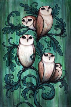 """Kelly Vivanco   """"Sprouted"""" 2013, Acrylic on Canvas, 36 x 24 inches, As seen on Wiens Family Cellars 2011 White Crowded wine label."""