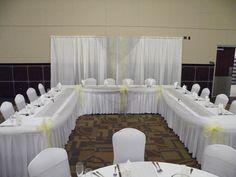 #headtable #yellowandgray #wedding