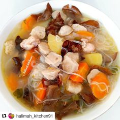 Soup Recipes, Cooking Recipes, Recipies, Chicken Nuggets, Indonesian Food, Asian Cooking, Pot Roast, Vegetable Recipes, Cooker