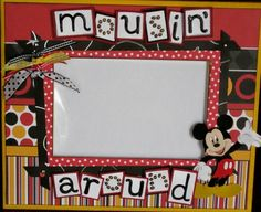 Mousin' Around - Disney Frame : Gallery : A Cherry On Top