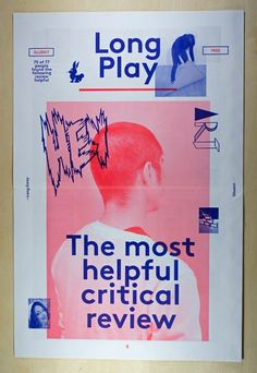 Long PlayNewspaper, 2013Design: Gluekit