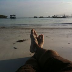 Quotidie at Africa's beach
